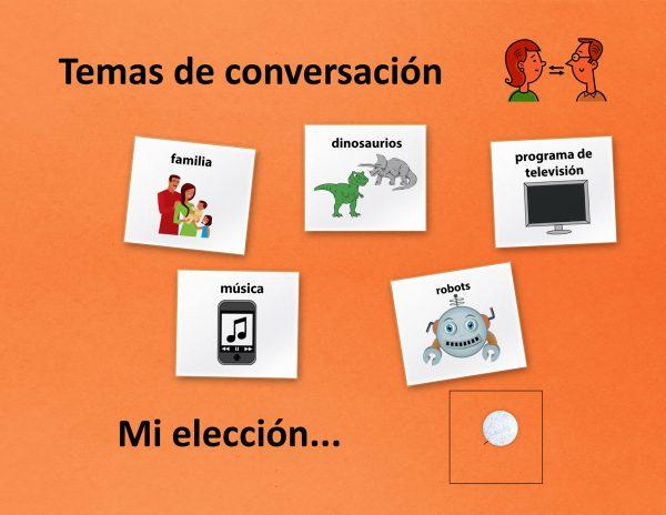 topic board spanish
