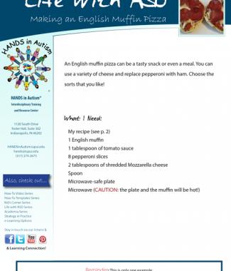 English Muffin Pizza - Thumbnail