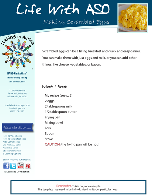 make scrambled eggs thumbnail