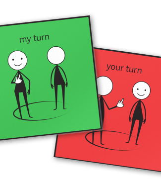 My Turn/Your Turn Cards