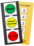 visual supports Stoplight and Countdown