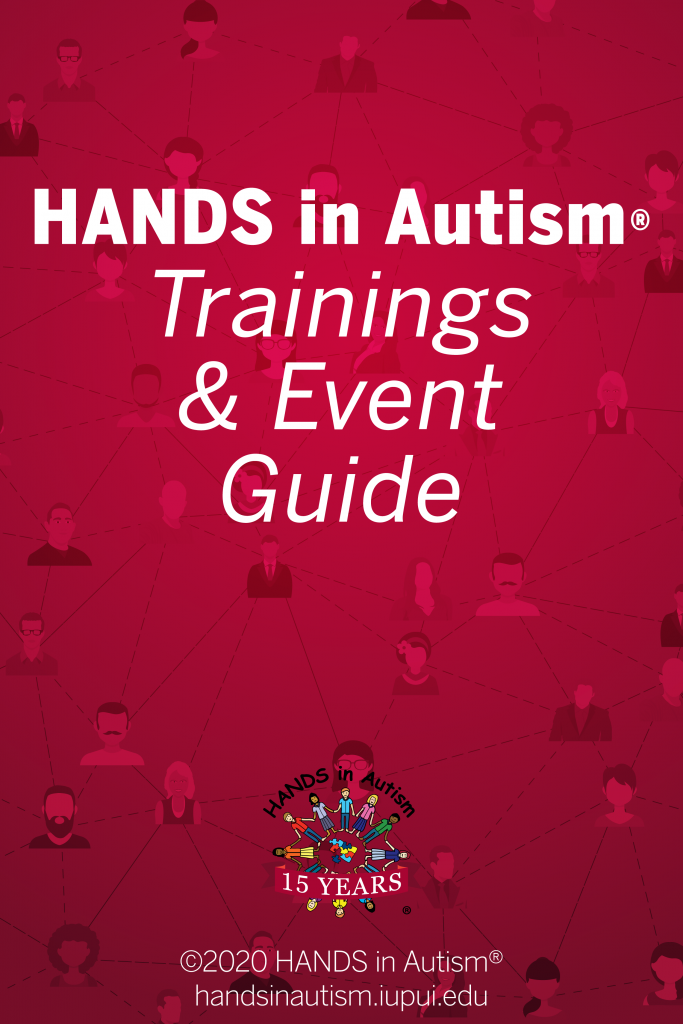 HANDS event guide cover