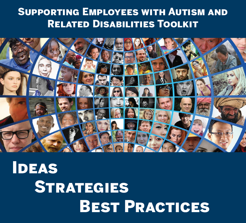 Supporting Employees with Autism and Related Disabilities Toolkit Cover